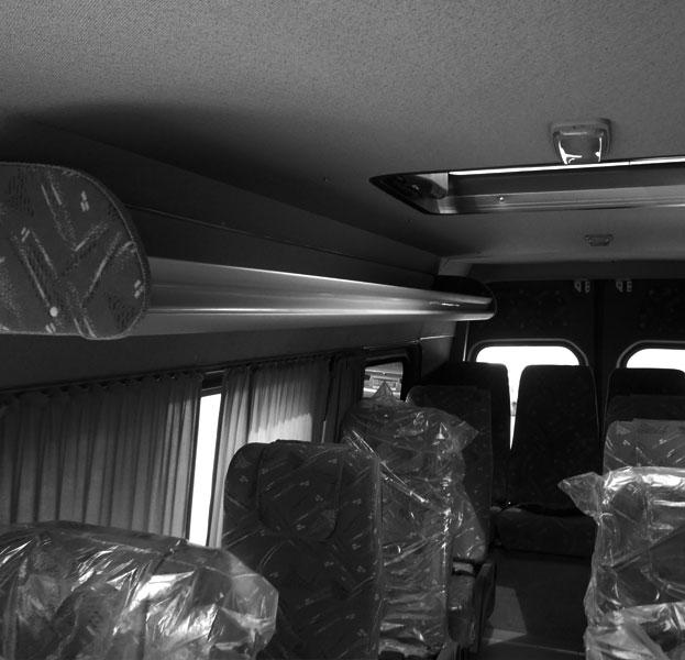 Междугородний микроавтобус